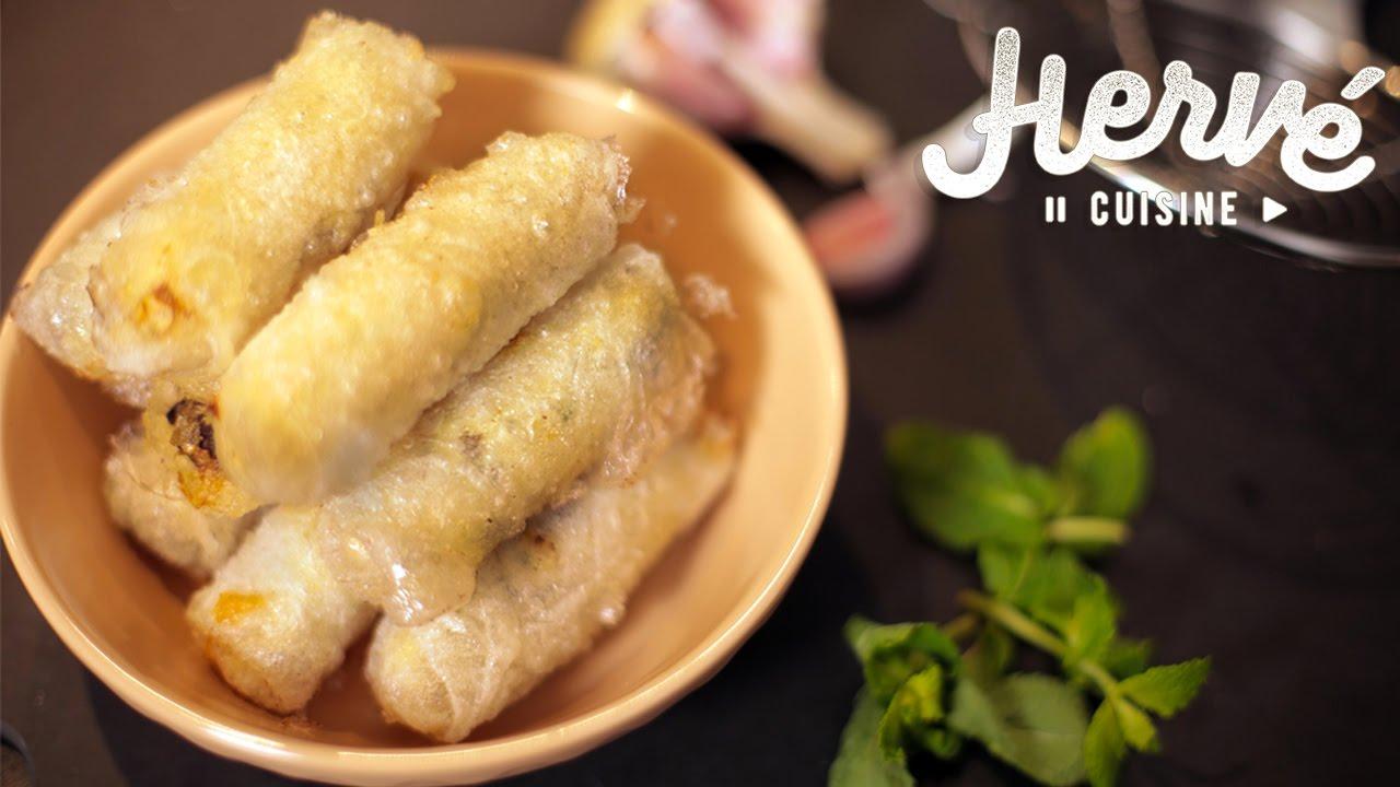 Recette Nems Au Poulet Croustillants (cuisine Asiatique