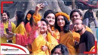 হলুদ বসন্তে ভালোবাসার গোলাপি আভা  | ১৪ ফেব্রুয়ারি ২০২০