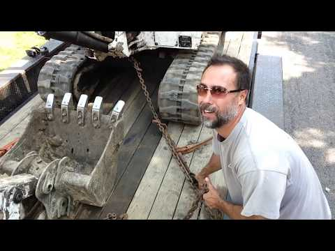 How to Chain Down Equipment. (without knocking out your teeth)