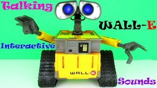 Disney-Pixar Collection: Interactive Talking WALL-E Toy Review & Unboxing, Thinkway Toys