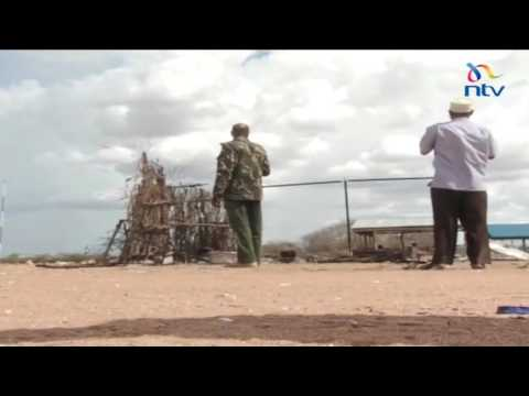 al Shabaab militants stage a 1:30 AM attack on a police station in Diff, Wajir