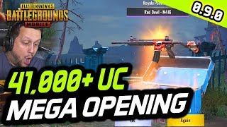 MEGA CRATE OPENING - 41,000+ UC - FAIL OR WIN? PUBG Mobile