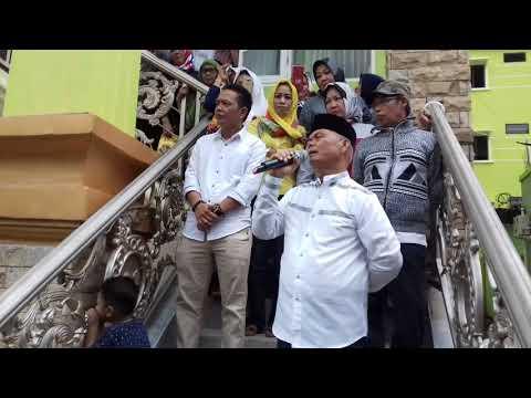 Pastikan Menang Di Pilkada Enrekang 2018, Begini Pidato Kemenangan Muslimin Bando