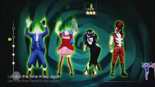Just Dance 4 Time Warp