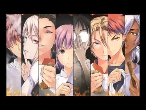 Food Wars [Shokugeki no Soma] 2nd Opening Full + Lyrics -Rising Rainbow