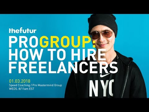 How To Hire Freelancers & Grow Your Business Pro Call