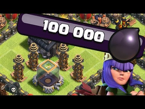 WHAT TO DO w/ 100k DARK ELIXIR!  TH9 Dark Elixir Time | Clash of Clans