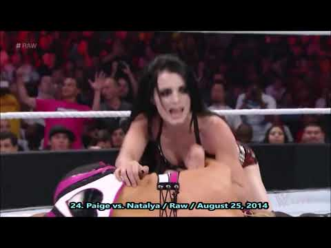 Paige - All Rampaige DDT,  Paige Turner & Superkicks - 2019 Moves