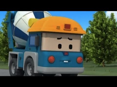 Робокар Поли - Трансформеры - Выслушайте Майки! (мультфильмы 35)
