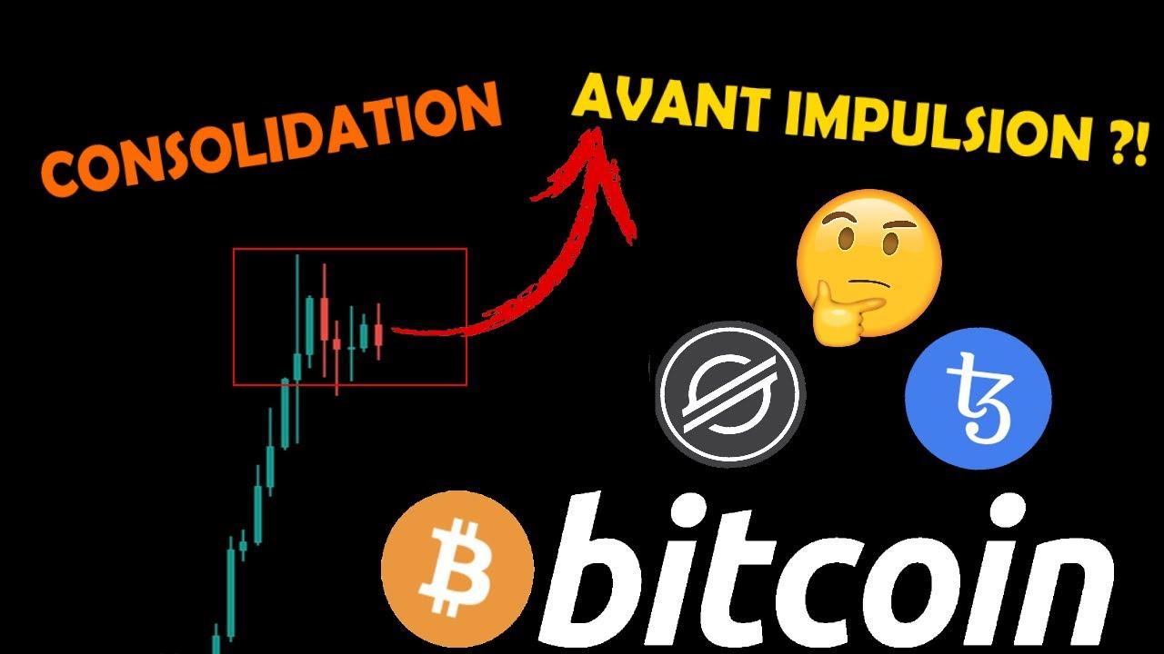 BITCOIN CONSOLIDE AVANT UNE NOUVELLE IMPULSION HAUSSIÈRE ?! 📈 + XLM ET XTZ analyse crypto monnaie fr