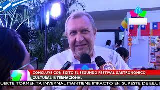 Concluye con éxito el segundo Festival Gastronómico Cultural Internacional