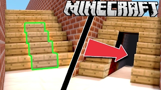 EASY Secret & Hidden ROOMS in Minecraft!
