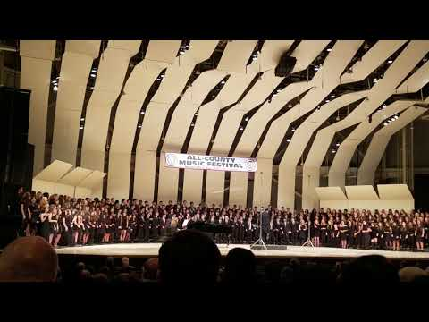 All county music festival, Div Saturday, Jan 13, 2018 Chorus