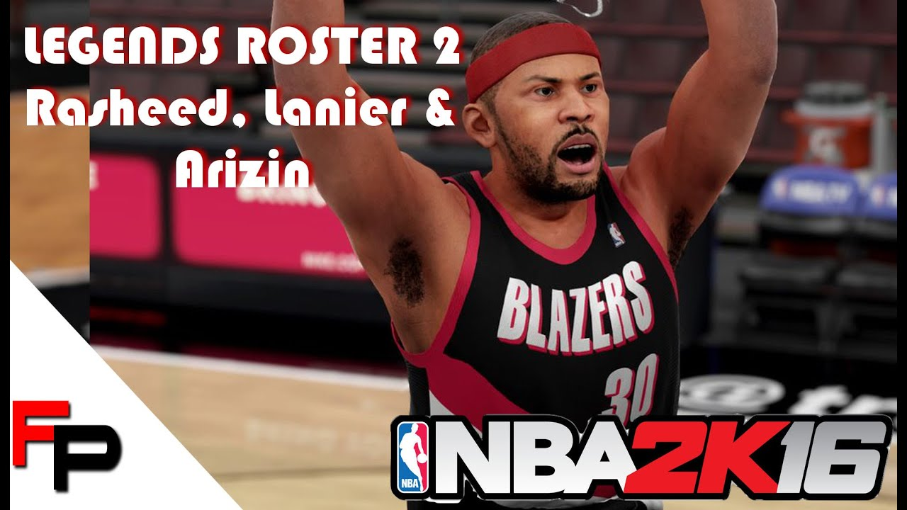NBA 2K16 How to Make Rasheed Wallace Bob Lanier & Paul Arizin