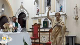 Missa ao vivo | 12º Semana do Tempo Comum | Em honra a São João Batista