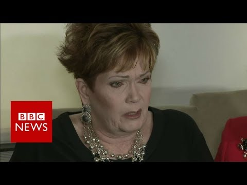 'I was terrified' says Roy Moore accuser - BBC News