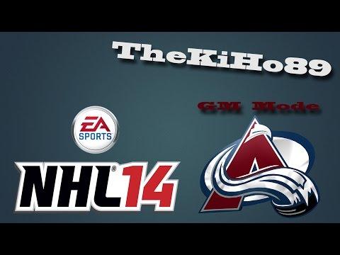 "NHL 14 GM Mode: Colorado Jakso 37 ""Pudotuspelit putkeen"""