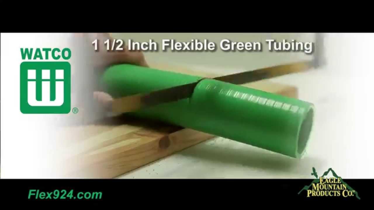 Watco Flex924 Drain Pipe - How to Install Flexible Overflow Tubing - YouTube & Watco Flex924 Drain Pipe - How to Install Flexible Overflow Tubing ...