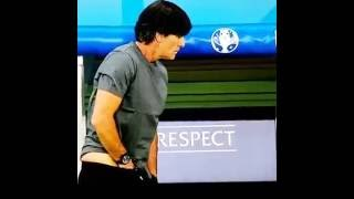 Repeat youtube video Germany soccer team coach & his famous Self Exam for Testicular Cancer !