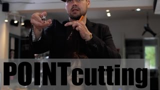 NEVER Point Cut Like This! How to use Point Cutting in a Haircut