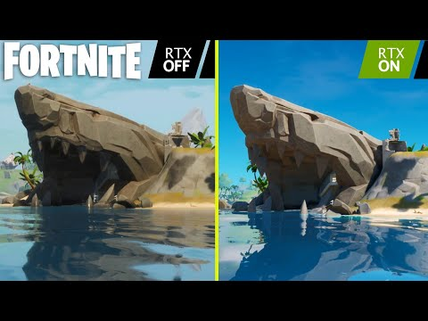 Fortnite Ray Tracing ON vs OFF Early Graphics Comparison