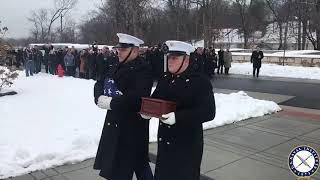 USNI News Video: R. Lee Ermey Buried in Arlington National Cemetery