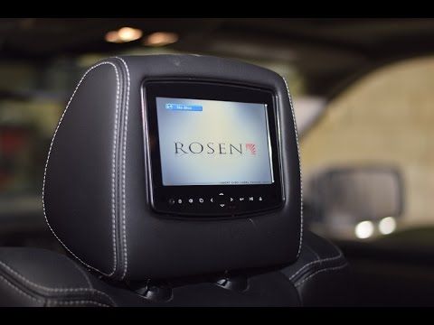Ram 1500 Headrest Dvd Rosen Av7950h Oem Dvd With Hdmi