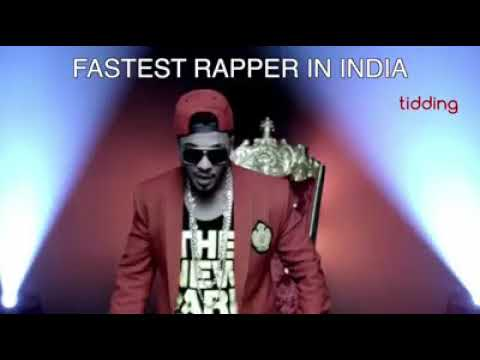 FASTEST RAPPER IN UK, US, INDIA AND UAE!