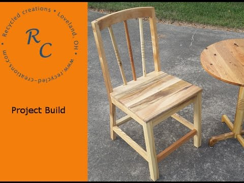 Pallet Wood Chair Skill Building Exercise
