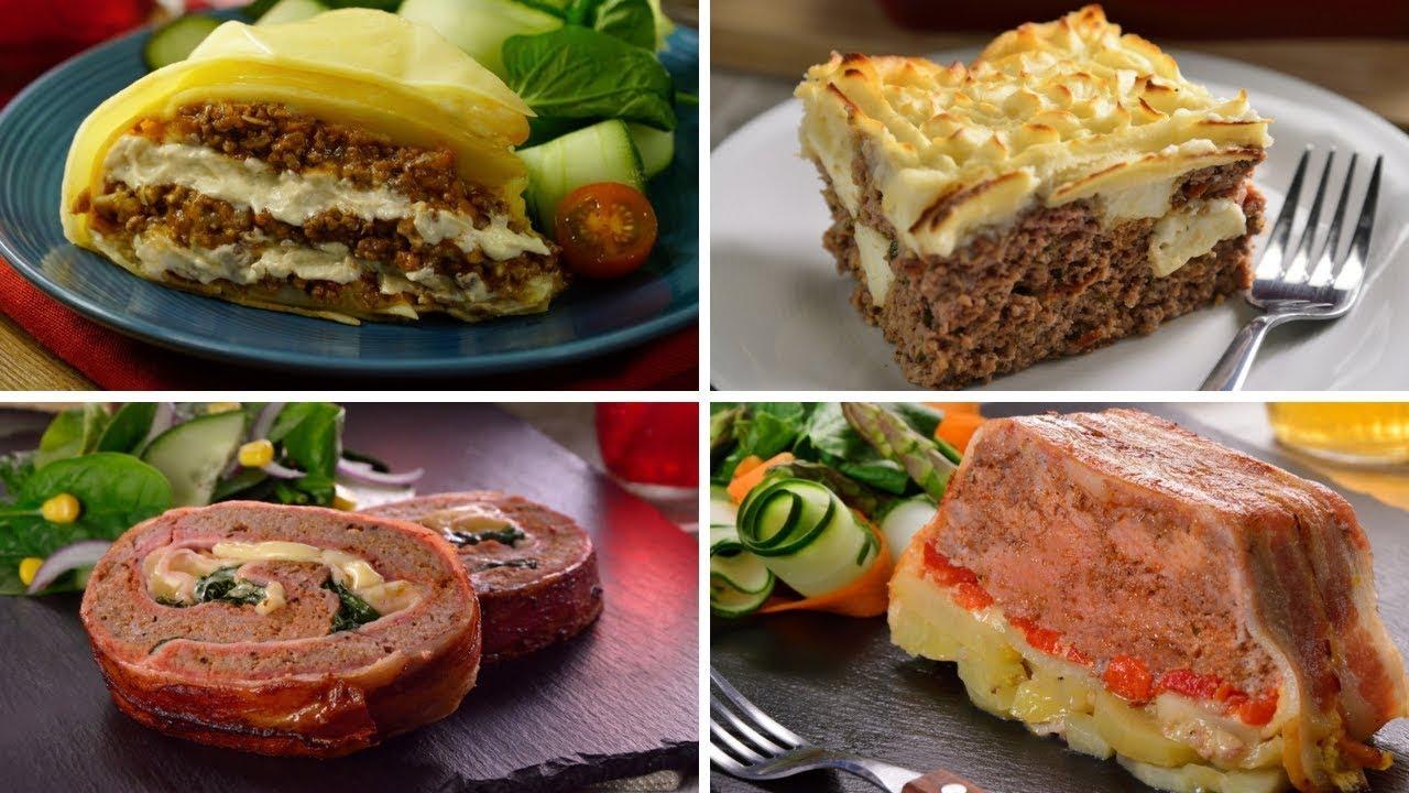 Receta con carne molida saludables