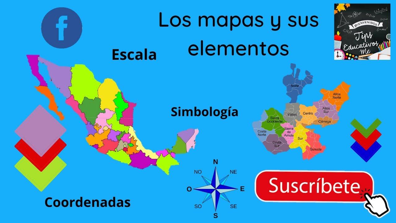 Los Mapas Y Sus Elementos Youtube
