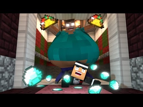 Fat Herobrine Life - Minecraft Animation