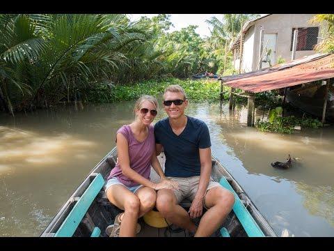 Amazing day in the Mekong Delta - Cai Rang - Vietnam   German Travel Vlog]