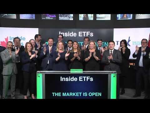 Inside ETFs opens Toronto Stock Exchange, March 21, 2018