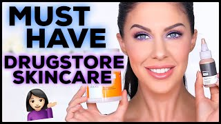 Five Must Have Drugstore Skincare Products! You Need To Try These!!