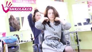 Курс причесок и плетения кос на самой себе в Москве в Shkolakos