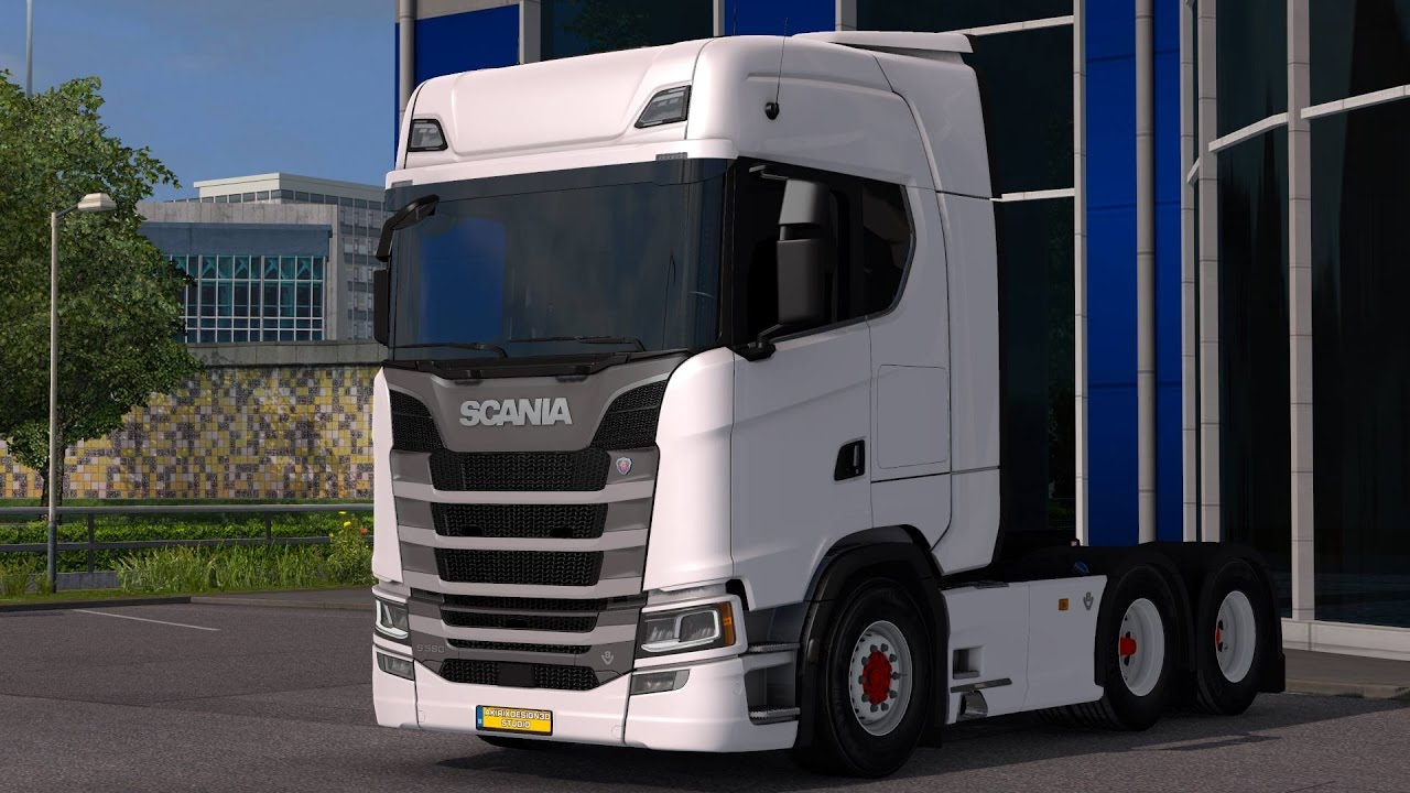 euro truck simulator 2 next generation scania s580 full hd. Black Bedroom Furniture Sets. Home Design Ideas