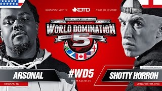 Shotty Horroh vs Arsonal