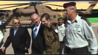 Gilad Shalit Finally Arrives in Israel