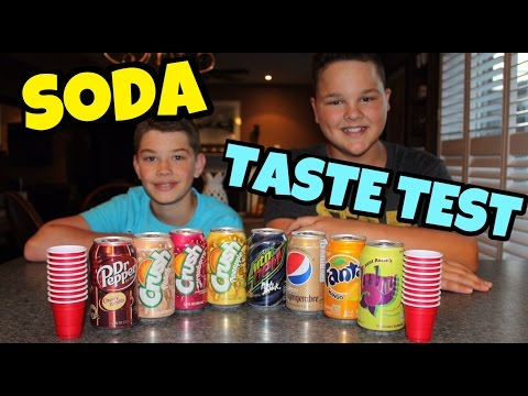 NAME THAT SODA!! - Taste Test