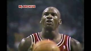 Michael Jordan 41 Points & Destroys Celtics in Boston Garden! Revenge Game & Dunks on Larry Bird!