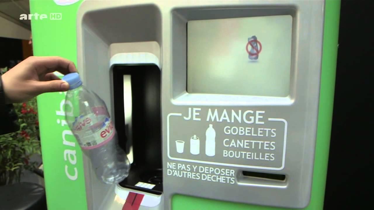 Arte canibal le recyclage ludique youtube for Poubelle broyeur