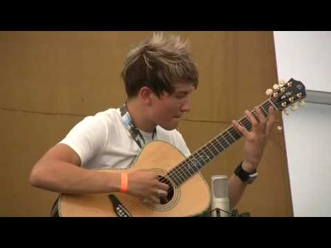 Canadian Guitar Festival 2010 Finalist 1 Song 2 1st Place Calum Graham The Channel Youtube
