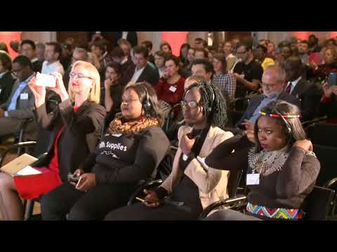 Start-up Night! Africa: Greeting by Federal Minister Brigitte Zypries