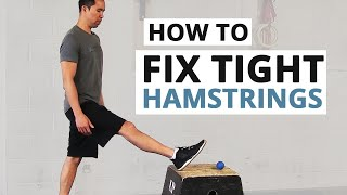 How to Fix Tight Hamstrings (HINT: Static Stretching Doesn