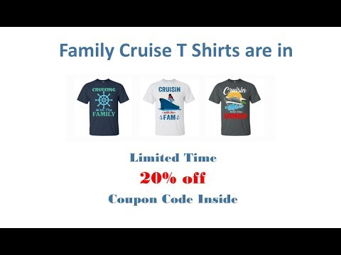 Cruise T Shirts For The Family | Family Vacations