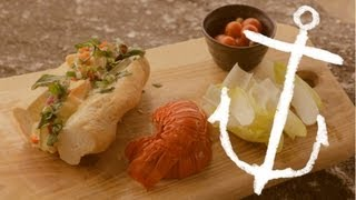 Lobster Lime Aioli Baguette Recipe Bondi Harvest