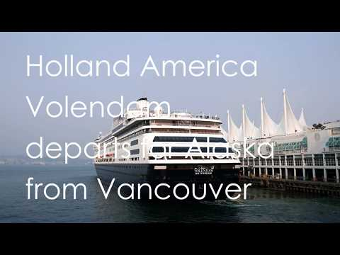 "Holland America ""Volendam"" departs for Alaska from Vancouver Canada Place (02)"
