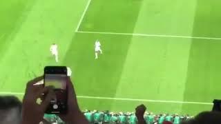 Angleterre 1 - 0 Croatie - le magnifique coup franc de Trippier