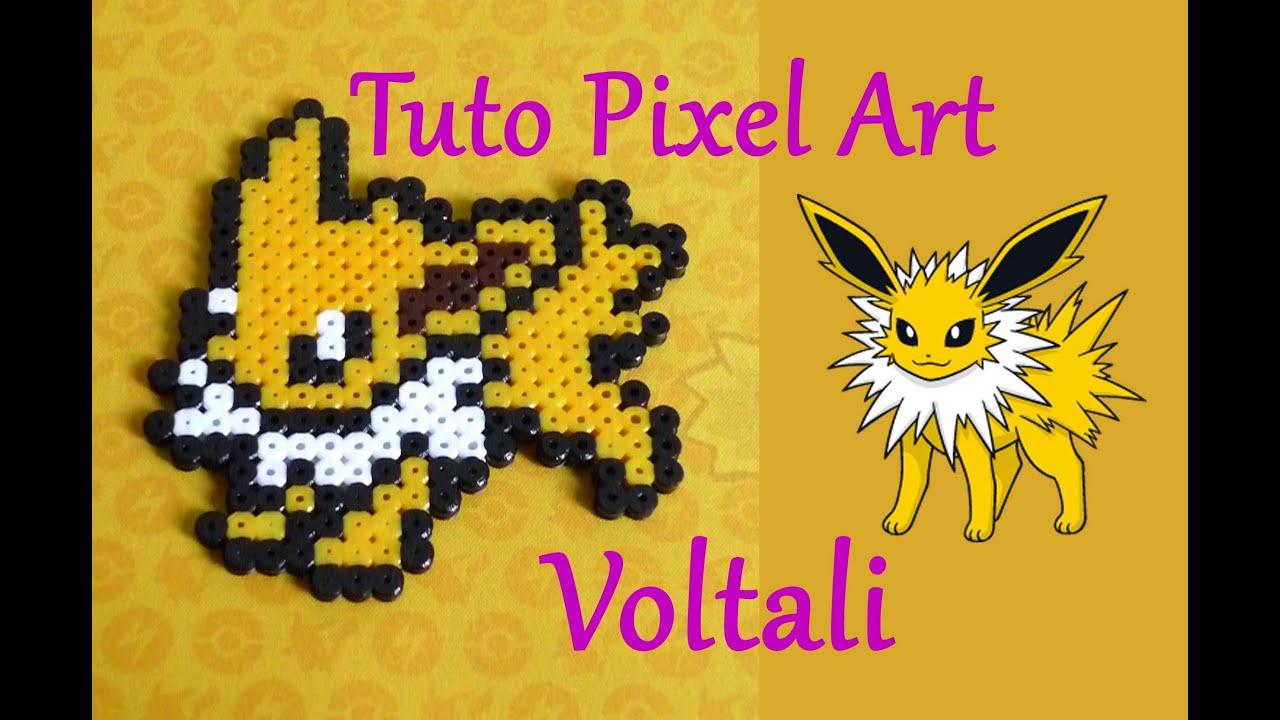 Tuto Pixel Art N2 Voltali Pokemon